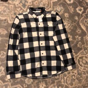 Buffalo check button up fleece
